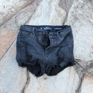 Hollister HIgh Waisted Short Shorts